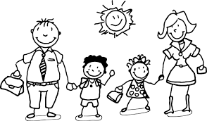 Tremendous Coloring Pages Of Families Family Page Free On Art