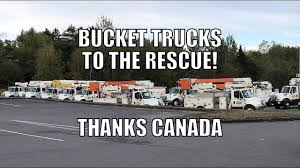 Caravan Of Canadian Bucket Trucks Headed South To Help Victims Of ... Used Bucket Truck For Sale 92 Gmc Topkick With 55 Boom Dual Fort Drum The Mountaineer Online Bucket Truck Service T Evans Electric Ltd River Point Station Ford F450 Xl Short Cab Serviceutility Repair Refurbish Body Youtube You May Already Be In Vlation Of Oshas New Service Crane Caravan Cadian Trucks Headed South To Help Victims Boom Automotive Buying Superior Aerial And Equipment Substation