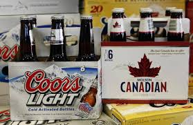 Molson Coors sees strong demand overseas flat sales in Canada