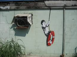Famous Street Mural Artists by Banksy