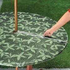 Square Patio Table Tablecloth With Umbrella Hole by Patio Table Covers With Umbrella Hole Foter