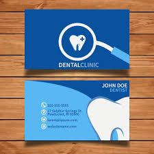 Dental Clinic Logosiness Card Template Stock Vector Dentist