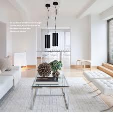 lukloy anhänger le lichter wohnzimmer shop kommerziellen led unten spot licht zylinder rohr anhänger lichter luminare 12cm durchmesser
