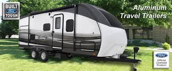 FORD ALUMINUM TRAVEL TRAILERS