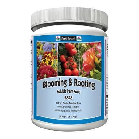 Ferti-lome 9-58-8 Blooming & Rooting Soluble Plant Food 3 lbs