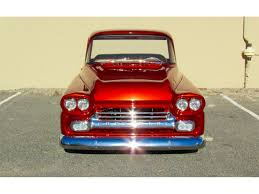 100 Custom Pickup Trucks For Sale 1959 Chevrolet Fleetside Truck For ClassicCars
