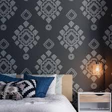 tapete für schlafzimmer wände designs wand zimmer muster
