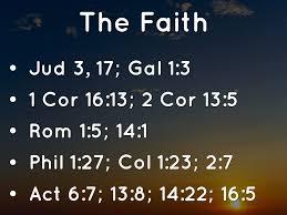 100 Col 1 Faith Towards God By Matthew Garrett