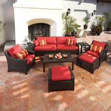 Patio Furniture With Hidden Ottoman by Ottomans Chair With Ottoman That Slides Underneath Patio Chair And