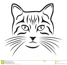 Pumpkin Carving Cat Face Template by Cat Face Stock Photos Images U0026 Pictures Shutterstock Ersatz