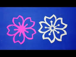 Paper FlowersHow To Make Simple Cutting Flower Designs Step By