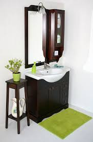 badmöbel set 5teilig 85cm kolonialfarben italienisch badezimmer vollholz massiv