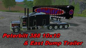 100 Balls On Trucks Farming Simulator 15 Mods Truck Peterbilt 388 10x10 And Trailer