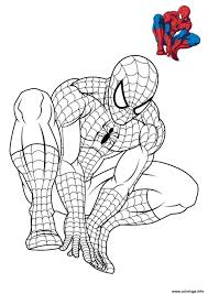 Coloriage Spiderman 3 En Reflexion Dessin Imprimer Spiderman
