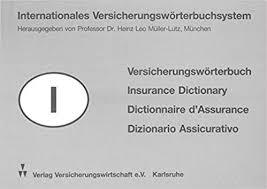 internationales versicherungswörterbuchsystem