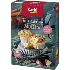 kathi apfel karotten muffins 380 g schachtel metro