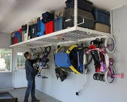 Hyloft Ceiling Storage Unit Instructions by Saferacks Overhead Garage Storage Bike Rack Heavy Duty 18