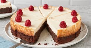 brownie käsekuchen einfacher schokokuchen mit cheesecake