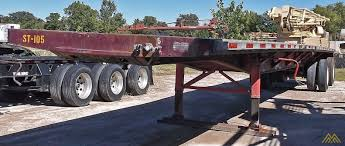 100 Truck Bed Trailers Fontaine LFTW58045 WSK Flat Trailer SOLD S