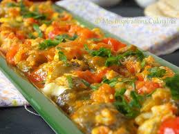 cuisiner les poivrons rouges chakchouka aux poivrons et oeufs le cuisine de samar