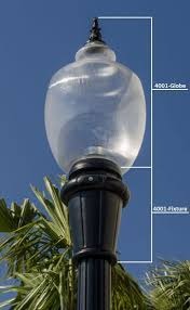 Decorative LED Street Light with Post Outdoor Lighting