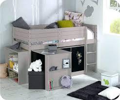 hauteur bureau enfant lit mezzanine mi hauteur lit mi hauteur avec bureau chambre avec