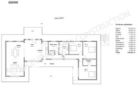 plan maison 150m2 4 chambres archifacile pro gratuit avec plan maison 120m2 4 chambres 3