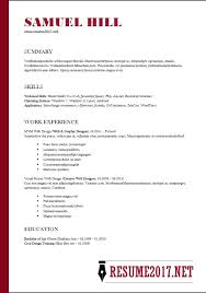 Functional Resume Example Template Sample 1 Endowed Meanwhile Word Good Examples For Highschool Students With No Work Experience