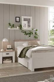 schlafzimmer set flurencina im landhausstil mit 100x200 cm
