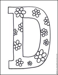 Printable Coloring Letters Wallpaper Cuberpress