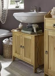 waschtisch unterschrank kiefer gelaugt geölt waschbeckenschrank holz massiv