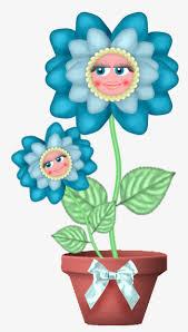 un pot de fleurs à la bleue du soleil dessin de tournesol