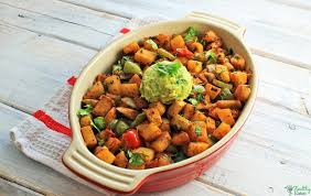 RECIPE Jicama Home Fries Paleo Healthy Eaton