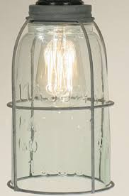 Beautiful Mason Jar Pendant Light With Interior Design Ideas Caged Open Bottom