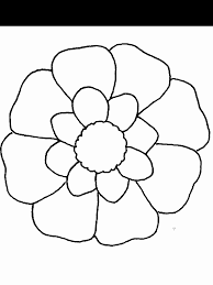 Perfect Flower Pictures To Color Best Coloring Pages Ideas For Children