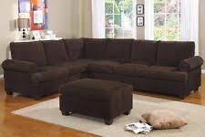 corduroy sectional sofas loveseats chaises ebay