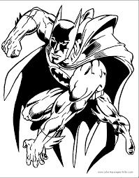 Batman More Free Printable Cartoon Character Coloring Pages