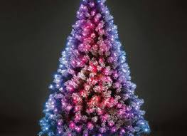 Ge Artificial Christmas Trees by Artificial Christmas Tree Led Lights With Ge 7 5 Ft Pre Lit Led