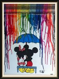 Disney Crayon Art