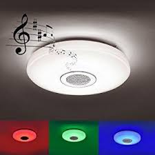 rgb led decken le bluetooth musik lautsprecher