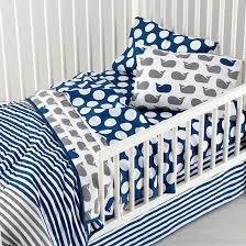 a Splash Navy and Grey Toddler Bedding