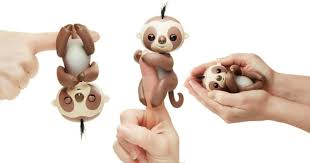 Walmart Exclusive Kingsley The Interactive Baby Sloth Fingerling Only 1484
