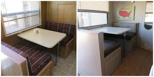 Travel Trailer Renovation Before After