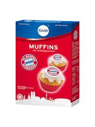 fcb muffins backmischung muffinaufleger fc bayern fanshop