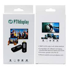 PTVdisplay AnyCast DA02 Wireless WiFi TV Stick Miracast Airplay