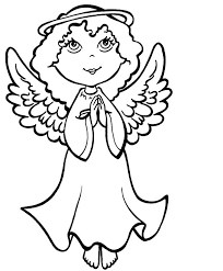 Printable Angel Coloring Pages 20 Free For Kids