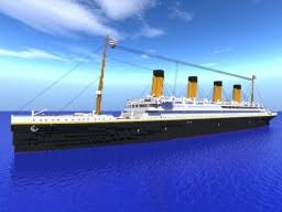 Minecraft Titanic Sinking Map by Rms Titanic Outdated Minecraft Project