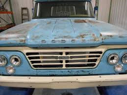 100 1962 Dodge Truck Project 2016 SEMA Show Fenders Hood