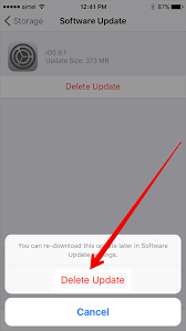 How to Remove Software Update Download from iPhone iPad