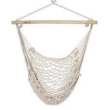 hamac siege suspendu 2 x porche swing de coton corde hamac patio jardin suspendu air